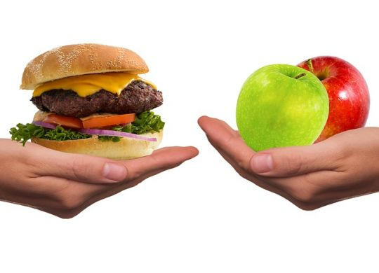 cleaning the organism by fasting takes junk food out of the diet