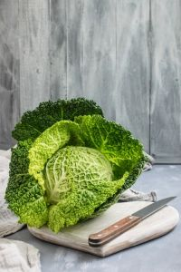 Cabbage on the table - one of the green vegetables you should eat to cleanse your body
