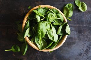 Spinache leaves showes why is zinc important in nutrition