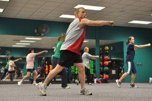 Vežbači u teretani